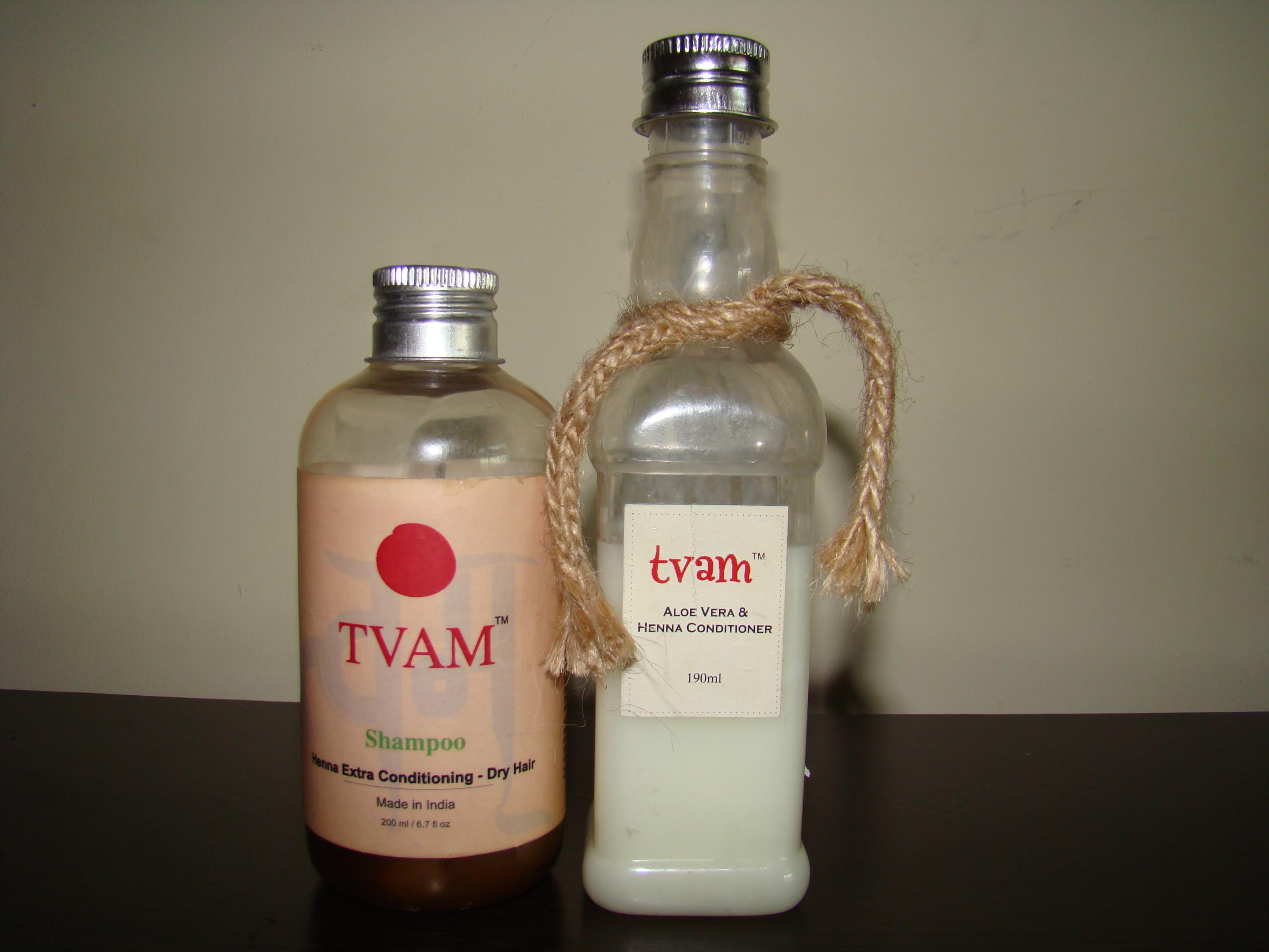 Mehndi For Conditioning Hair : Tvam henna extra conditioning shampoo and aloe vera
